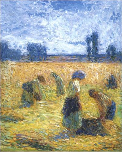 """Qui a peint """"La récolte"""" ?"""