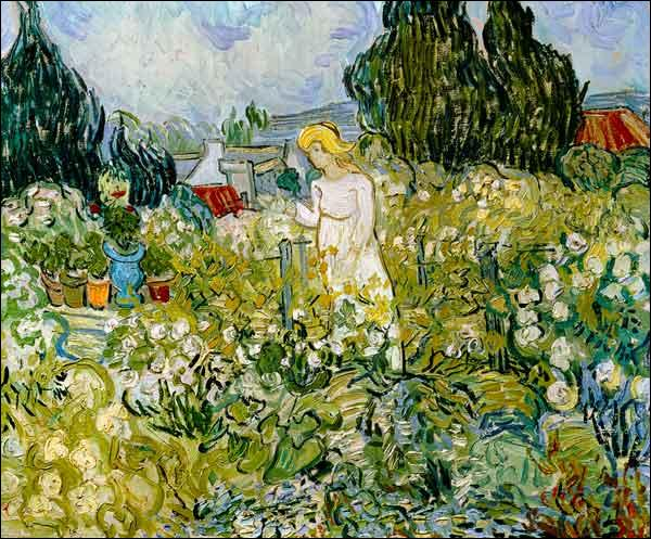 """Qui a peint """"Marguerite dans le jardin"""" ?"""