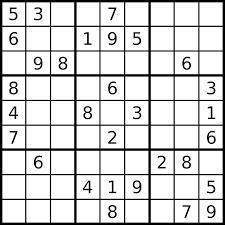 Au sudoku, quelle somme obtient-on si on additionne les chiffres d'une colonne, d'une ligne ou d'un des carrés de 9 cases ?
