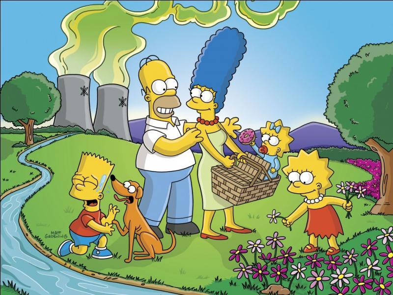Pourquoi les Simpson sont-ils jaunes ?