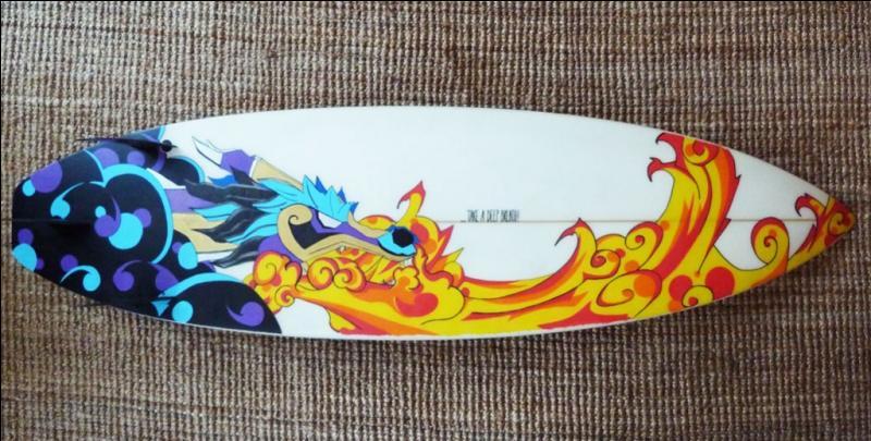 Quizz le monde marin quiz culture g n rale - Decorer sa planche de surf ...