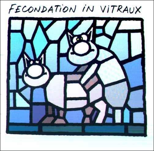 On m'a fait une _______ in vitro.