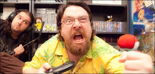On continue dans les jeux vidéos avec un célèbre testeur ayant pour atouts le fait de ne traiter que de jeux retros pourris et son tempérament explosif !