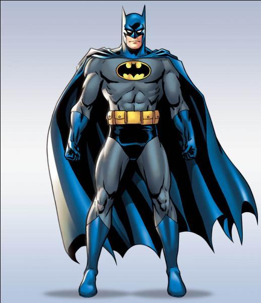 Batman a pour réelle identité : ...