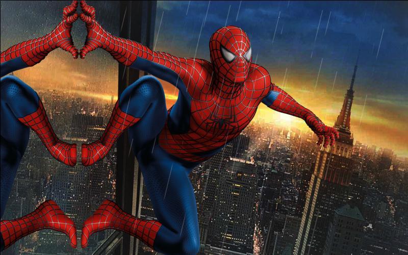 Quels sont le nom et le prénom du jeune homme qui se cache sous le masque de Spiderman ?