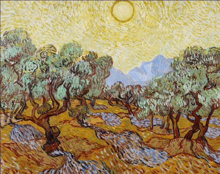 """Qui a peint """"Les oliviers"""" ?"""