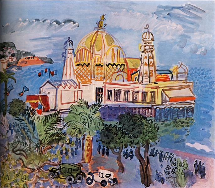 "Qui a peint ""Le casino de Nice"" ?"