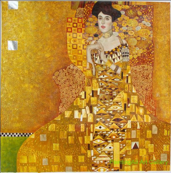 "Qui a peint ""Adèle Bloch Bauer"" ?"