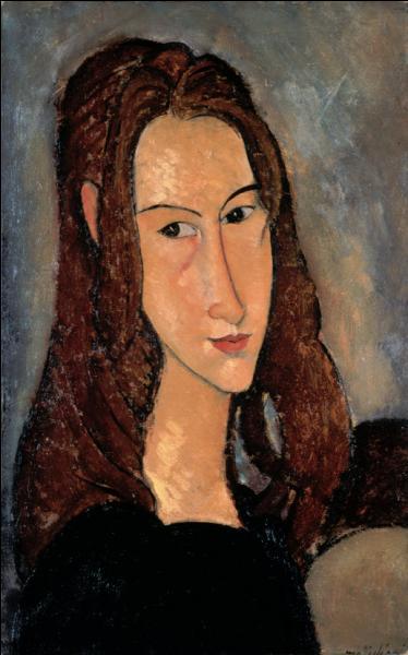 """Qui a peint """"Portrait de Jeanne Hebuterne"""" ?"""