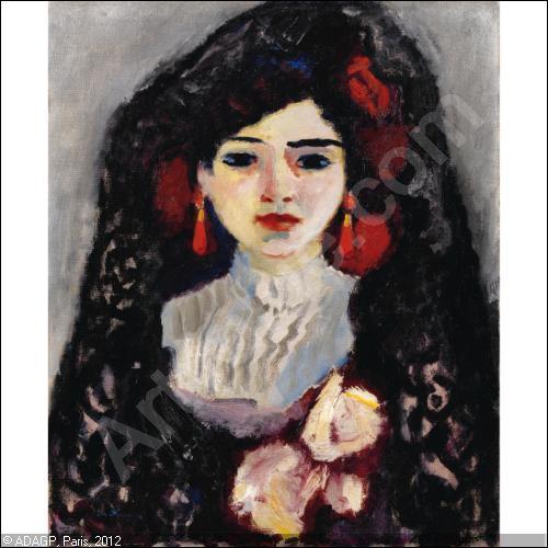 """Qui a peint """"Portrait d'Espagnole"""" ?"""