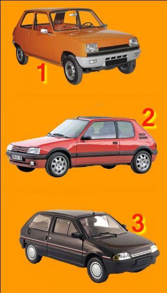 """Si je vous dis """"Renault 5"""". Quel numéro allez-vous choisir ?"""