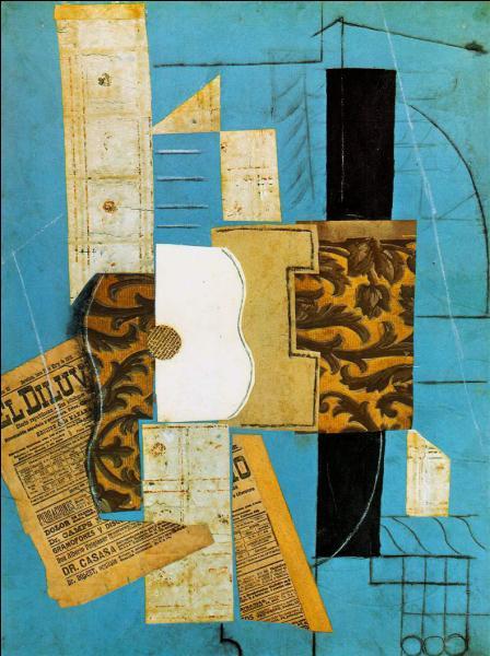 Quel peintre considéré comme l'inventeur du cubisme a mis au point la technique des papiers-collés ?