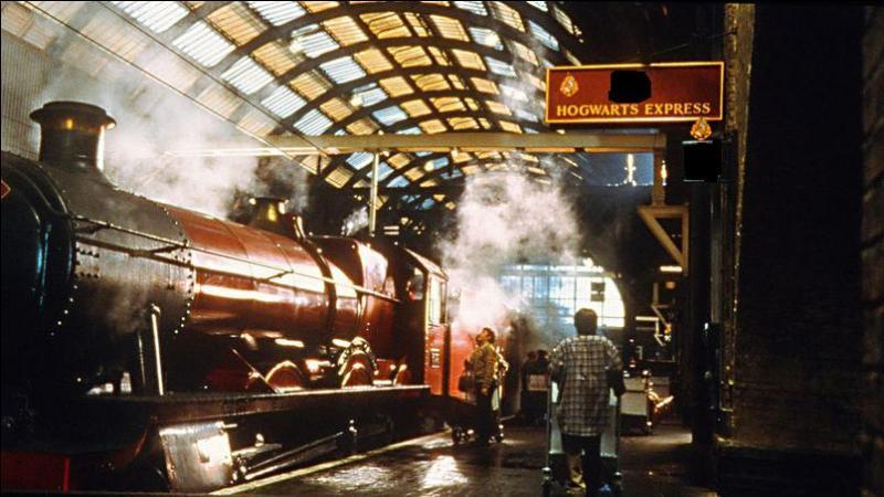 Comment s'appelle la voie que doit prendre Harry pour aller au Poudlard Express ?
