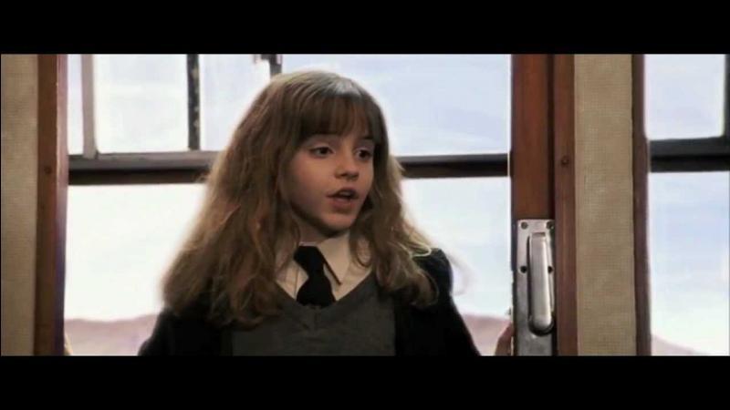 Quel sort Hermione lance-t-elle à la paire de lunettes de Harry pour les réparer ?