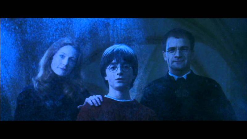 Dans quoi Harry peut-il voir ses parents ?