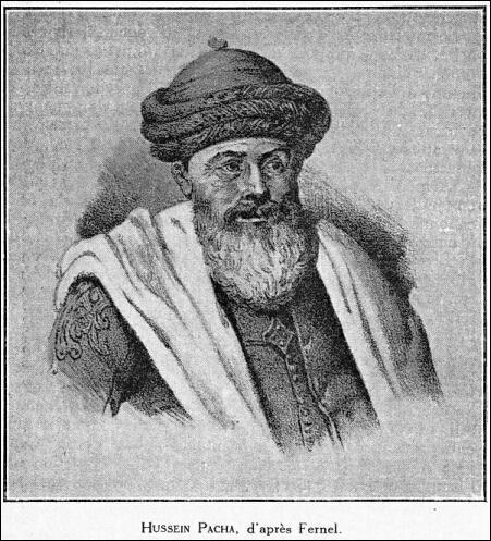 Histoire. Titre des régents d'Alger sous la domination de l'Empire ottoman, de 1671 à 1830 :