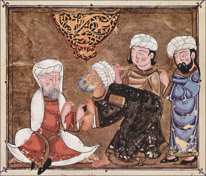 Juge musulman remplissant des fonctions civiles, judiciaires et religieuses :