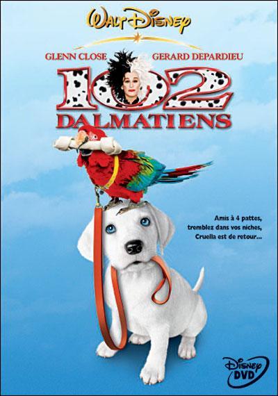Les personnages des « 102 Dalmatiens »