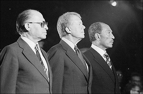 En 1978, le président Jimmy Carter parvient à faire conclure un accord entre l'Etat d'Israël et l'Egypte. On appelle cette rencontre