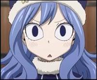Elle est une mage d'eau qui faisait partie des 4 éléments de Phantom Lord et qui a rejoint Fairy Tail. Qui est-ce ?