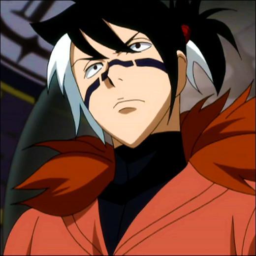 Il faisait partie des 4 éléments de Phantom Lord et a enseigné la magie de feu à Roméo. Qui est-ce ?