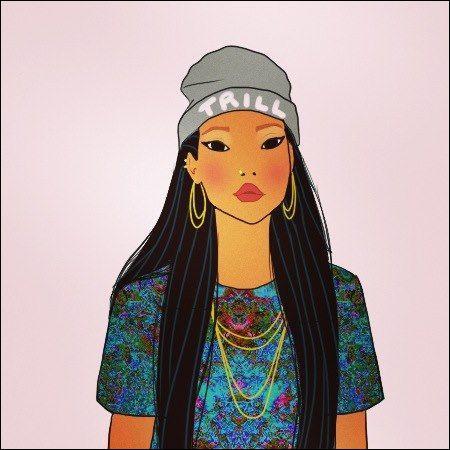 Cette beauté d'une tribu amérindienne et indépendante, c'est :