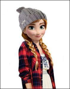 Cette princesse-ci est partie retrouver sa sœur, la reine des neiges, c'est :