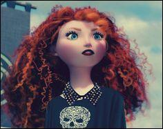Cette princesse avec sa crinière rousse n'a pas froid aux yeux et est indépendante ! C'est :