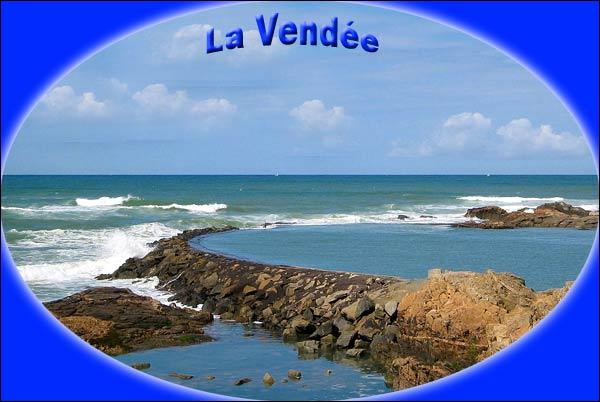 La Vendée, département de la région Pays de la Loire, a une frontière avec la Sarthe.