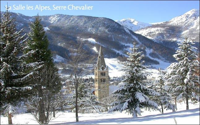 Serre-Chevalier est une station de sports d'hiver des Hautes-Alpes.