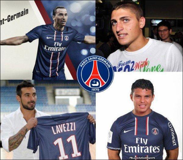 Été 2012, Leonardo fait venir dans la capitale Ibrahimovic, Van der Wiel, Lavezzi, Thiago Silva et Verratti. D'où viennent-ils ?