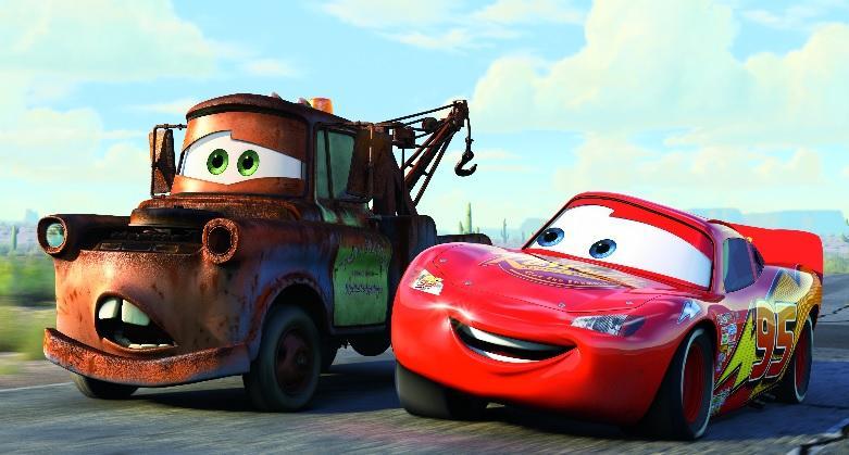 Les personnages de «Cars»
