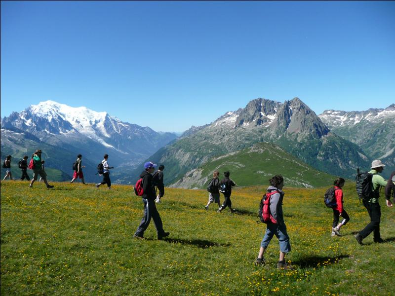La randonnée pédestre est une activité de plein air qui consiste à suivre obligatoirement un itinéraire balisé. (Un conseil : lisez attentivement les affirmations ! )
