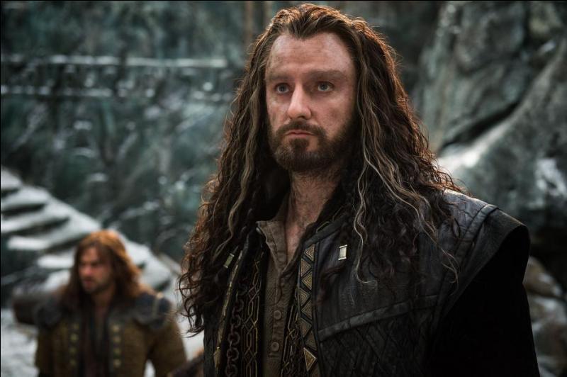Commençons par un des personnages principaux du film, Thorin Écu-de-Chêne, qui est incarné par l'acteur :