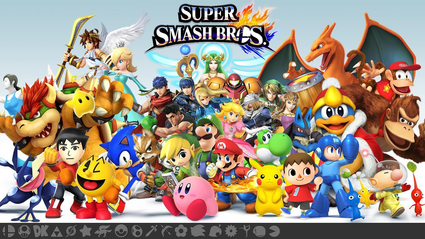 Super Smash Bros Wii U - Les personnages (2)