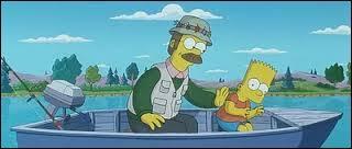 Bart et Ned profiterons d'être près d'un lac pour ____ des poissons.