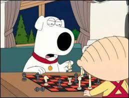 Brian et Stewie Griffin sont en train de jouer aux...