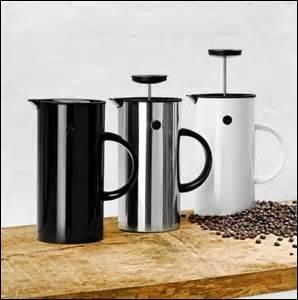 C'est le moment du café. Quelle cafetière utiliserez-vous ici ?