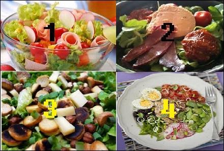 Où est la salade niçoise ?