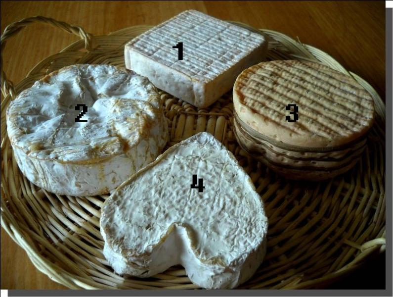 Plateaux de fromages normands. Quel numéro porte le neufchâtel ?
