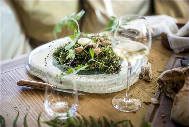 """Ajustez vos lunettes, pour découvrir ce plat """"nouvelle cuisine"""" de Marc Veyrat :"""