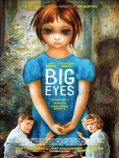 """Dans """"Big Eyes"""", le tout dernier Burton, on peut apercevoir ... faisant une apparition."""