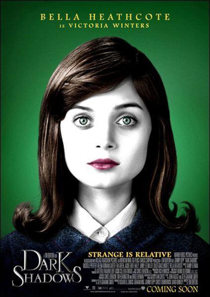 """Pour créer un fantôme réaliste dans """"Dark Shadows"""", l'actrice Bella Heathcote a dû..."""