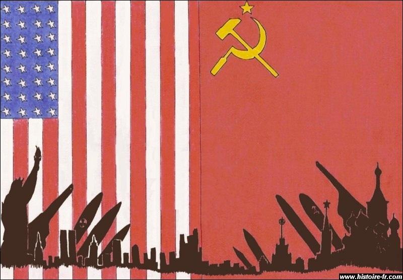Durant un temps, deux grandes nations étaient ennemies : la période 1947-1989 se nomme...