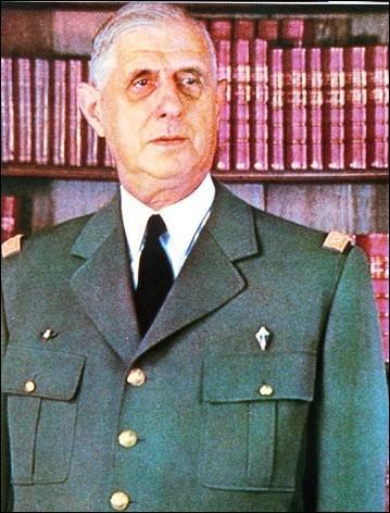 Qui fut le premier président, en France, de la Ve République ?