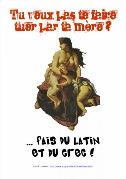 Quel sigle se rapporte à l'enseignement facultatif du latin et du grec ?