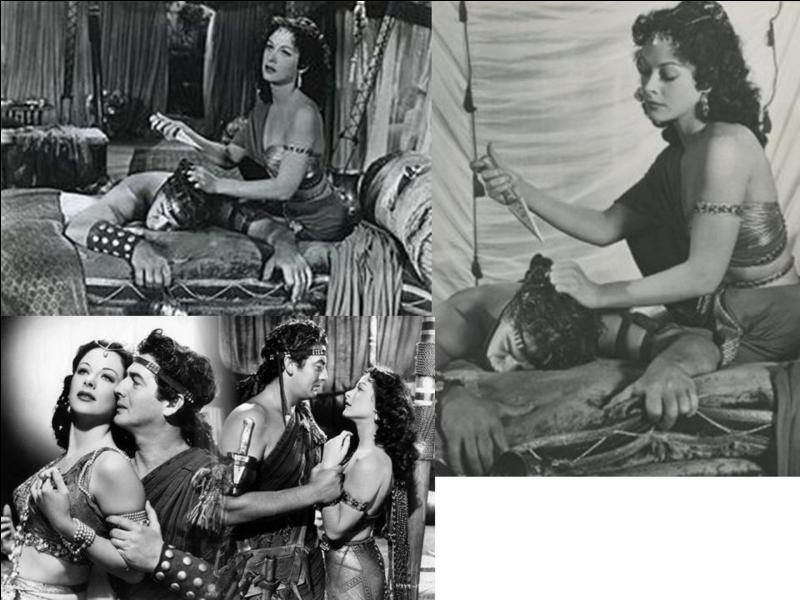 Ce film américain de 1949 est un péplum. Il a été réalisé Cecil B. DeMille. Hedy Lamarr, Victor Mature, George Sanders… font partie de la distribution. C'est une histoire où il ne fait pas bon d'être chauve et aveugle.Quel est ce film ?