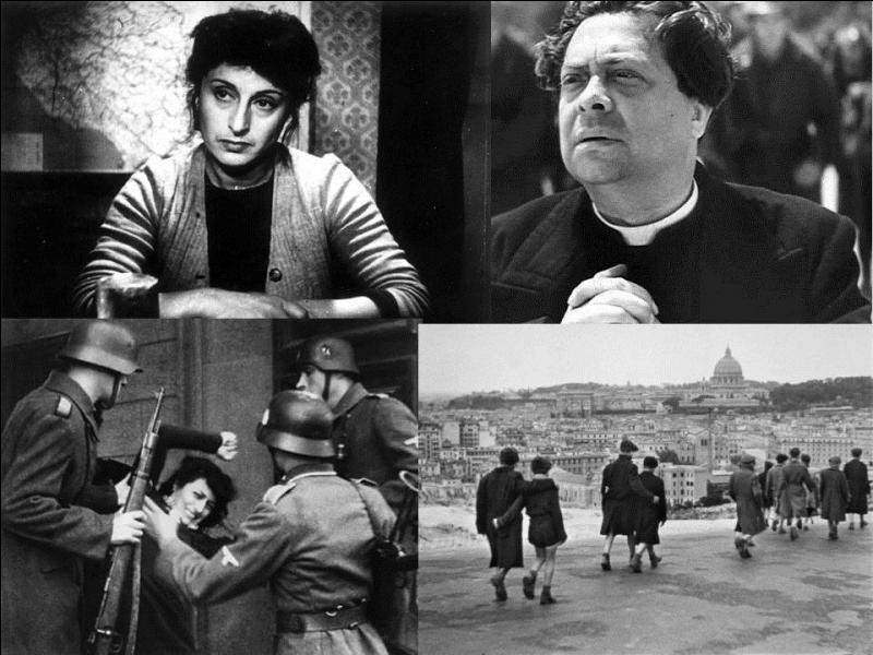 Ce film italien de 1945 est un film de guerre. Il a été réalisé par Roberto Rossellini. Aldo Fabrizi, Anna Magnani, Marcello Pagliero… font partie de la distribution. Où l'on parle d'un gamin qui devra assister à la mort par fusillade d'un prêtre ! Quel est ce film ?