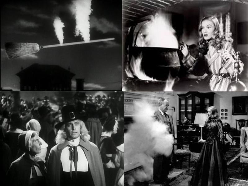Ce film américain de 1942 est une comédie fantastique. Il a été réalisé par René Clair. Fredric March, Veronica Lake, Susan Hayward… font partie de la distribution. Des sorciers ont été condamnés au bûcher. Leur vengeance va « tomber » sur un des descendants de leur juge.Quel est ce film ?