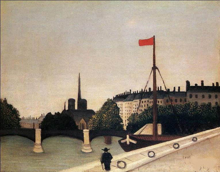 """Qui a peint """"Notre Dame, vue sur l'île Saint Louis"""" ?"""